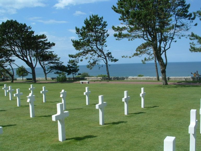 American Cemetery, Normandy - Paris