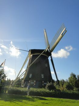A photo-op stop on the tour of the infamous windmills of Netherlands.. , Trina S - October 2012
