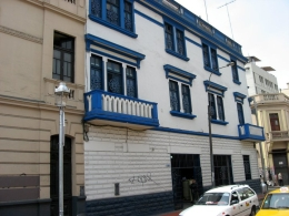 Another example of the architecture and colors of Lima!, Bandit - December 2010