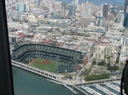 Photo of San Francisco San Francisco Vista Grande Helicopter Tour AT&T Park Stadium
