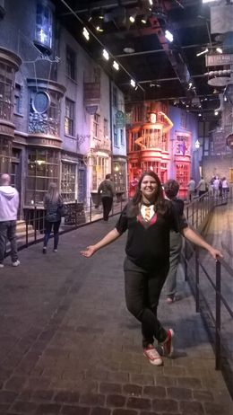 Photo of London Warner Bros. Studio Tour London - The Making of Harry Potter Beco diagonal