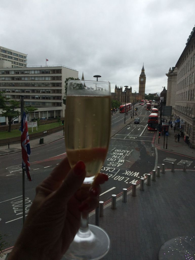 Champagne and Big Ben