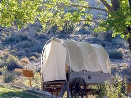 Photo of Las Vegas Grand Canyon North Rim Bar 10 Deluxe Air and Ground Tour Covered Wagon Accommodations