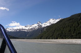 Heading up river., Tighthead Prop - March 2014