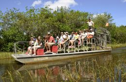 We were waiting to go into the everglades, but had to wait until all was clear , Ira F - May 2015