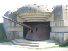 Photo of Bayeux Normandy Beaches Half-Day Trip from Bayeux German Gun Placement