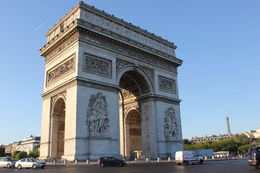 Arc de Triomphe. The view from the top is amazing. , Teri S - July 2011