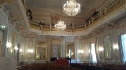 The concert room at La Fenice. Truely magnificent. , Mary Rose B - July 2015