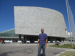 Me at the Library of Alexandria , Toney H - March 2015