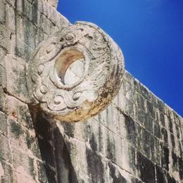 Photo of Cancun Viator Exclusive: Early Access to Chichen Itza with a Private Archeologist mayan basketball hoop (in affect)