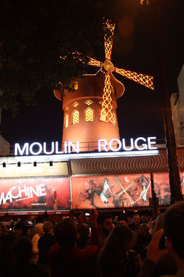Moulin Rouge theater. , Henry B - August 2013