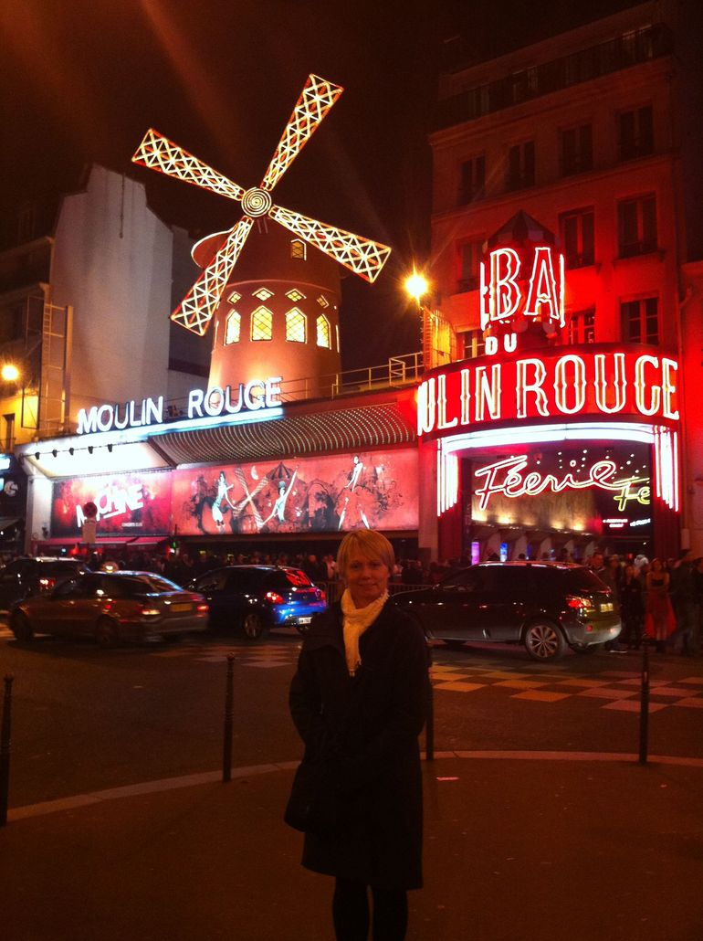 Moulin Rouge Saturday last - Paris