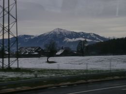 Amazing views from the coach - December 2009