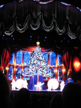 Photo of New York City Radio City Music Hall Christmas Spectacular NYC Dec 2010