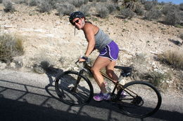 Photo of Las Vegas Guided or Self-Guided Road Bike Tour of Red Rock Canyon On the way up to Red Rock Canyon!
