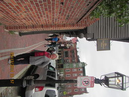 Me standing in front of Paul Reveres house. , Levada C - October 2014