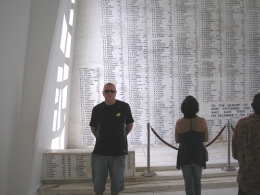 Photo of Oahu Arizona Memorial, Pearl Harbor and Punchbowl Sightseeing Tour Silver Wedding 2010 125
