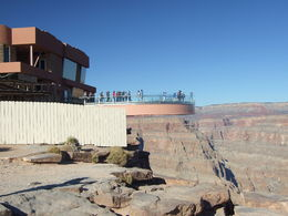 Photo of Las Vegas Grand Canyon West Rim Day Trip by Coach, Helicopter and Boat with Optional Skywalk Skywalk