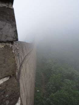 Photo of Beijing Great Wall of China at Badaling and Ming Tombs Day Tour from Beijing So foggy!