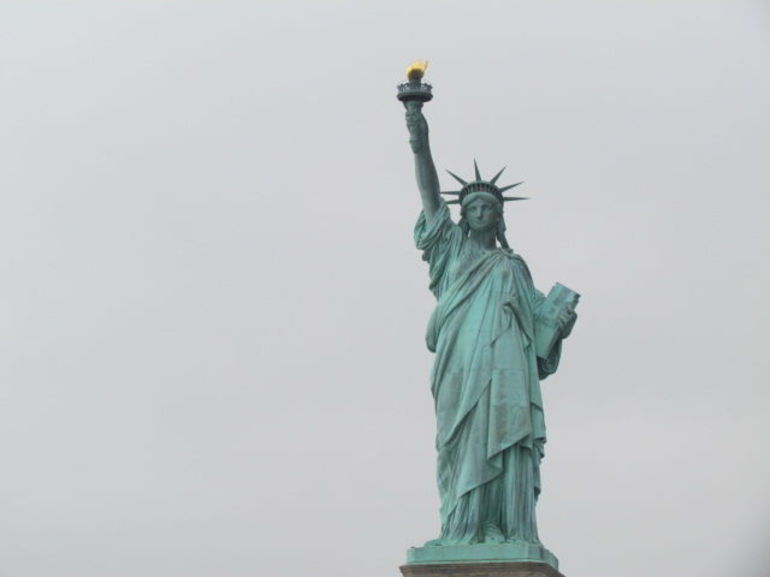 Statue of Liberty from the water - New York City