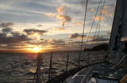 Photo of Auckland Auckland Harbour Dinner Cruise Sunset on the Auckland Harbor Dinner Cruise