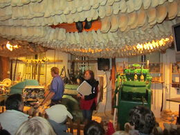 The guy was very entertaining and it was interesting to see how the clogs are made. , Rachael B - June 2013