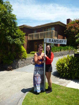 Photo of Melbourne The Official 'Neighbours' Tour of Ramsay Street Two generations of Neighbours fans