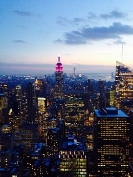 Photo of New York City Top of the Rock Observation Deck, New York view of a lifetime