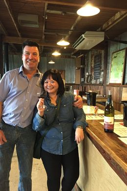 Wine tasting @ Yarra Valley , regchua - June 2015