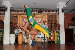 Capoeira an Africa slaves martial arts an outstanding performance , Patricia W - April 2012
