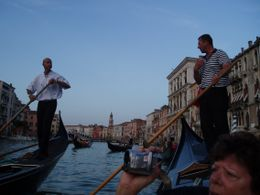 The Oarsmen were great to watch as they effortlessly maneuvered the Gondolas. They had great camaraderie between each other, and that dded to the fun time that we had., James P - June 2009
