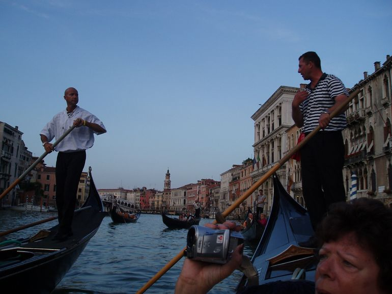 A Sunset Gondola Ride on the Grand Canal in Venice - Venice