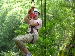 Photo of Montego Bay Canopy Tour Action Shot!