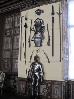 Photo of Paris Loire Valley Castles Day Trip: Chambord, Cheverny and Chenonceau Armor at Cheverny Chateau
