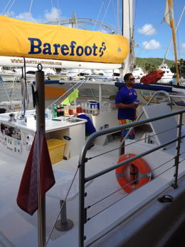 Photo of San Juan San Juan Snorkel and Picnic Cruise Barefoot Catamaran