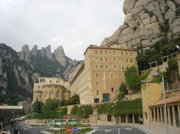 Photo of Barcelona Montserrat Royal Basilica Half-Day Trip from Barcelona Basilica Complex