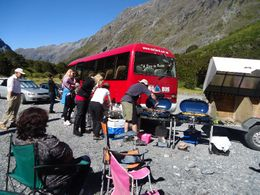 Photo of Fiordland & Milford Sound Full-Day Milford Sound and Fiordland National Park Tour including Milford Sound Cruise and BBQ Lunch from Te Anau BBQ Lunch
