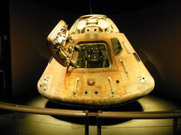 Foto av Orlando Kennedy Space Center vid Cape Canaveral Capsula Espacial