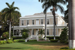 Devon House in Kingston: It was built in 1881, the government bought and restored the building in 1967 to house the National Gallery of Jamaica. - November 2011