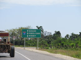 Photo of Punta Cana Punta Cana Half-Day Dune Buggy Adventure Driving the highway