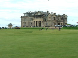 St. Andrews Club House , Douglas S - August 2011