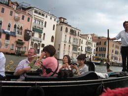 Photo of Venice Venice Gondola Ride and Serenade with Dinner Grand Canal