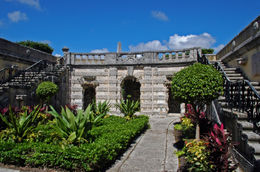 Photo of   Vizcaya Garden Courtyard with Balcony, Miami