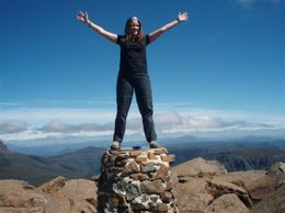 Photo of Launceston 3-Day Cradle Mountain Walking Expedition from Launceston On top of the summit!