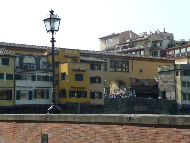 Ponte Vecchio from a Different Angle - Florence