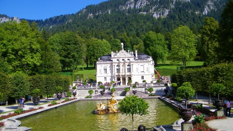 Royal castle of Linderhof - Munich