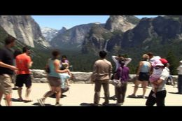 They let us off at multiple stops to take pictures and gaze at the spectacular beauty of Yosemite Park., Chris W - August 2011