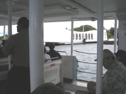 Photo of Oahu Arizona Memorial, Pearl Harbor and Punchbowl Sightseeing Tour silver wedding 2010 123