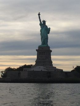 Photo of New York City Circle Line: Beast Speedboat Ride Statue of Liberty at dusk