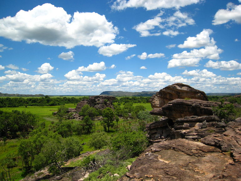 Ubirr Rocks and Floodplain - Darwin